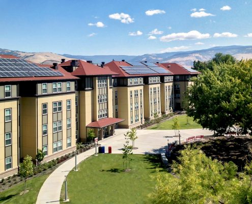 LEED Gold Dormitories at SOU