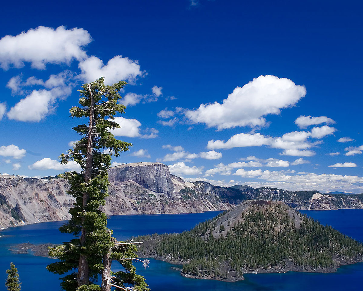 Crater Lake Wizard Island SOU Sustainability