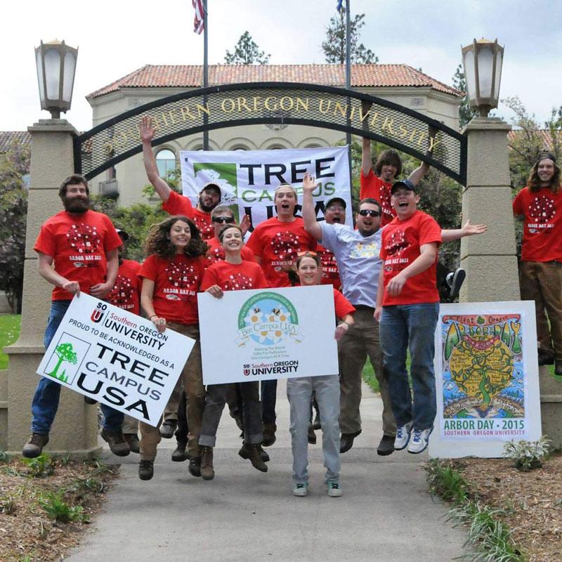 Landscape Service Tree Campus SOU