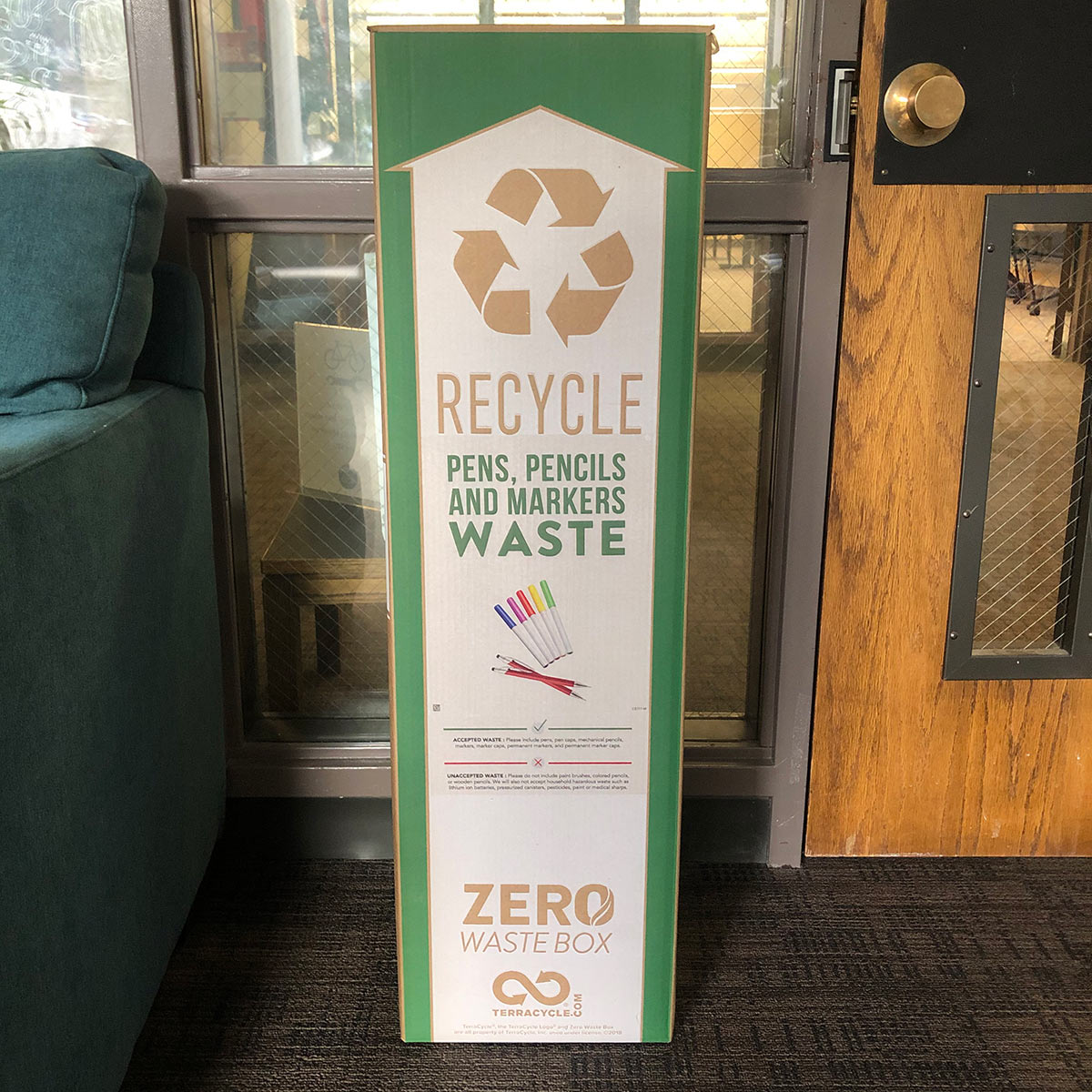 Marker and Pen Recycling at SOU Sustainability