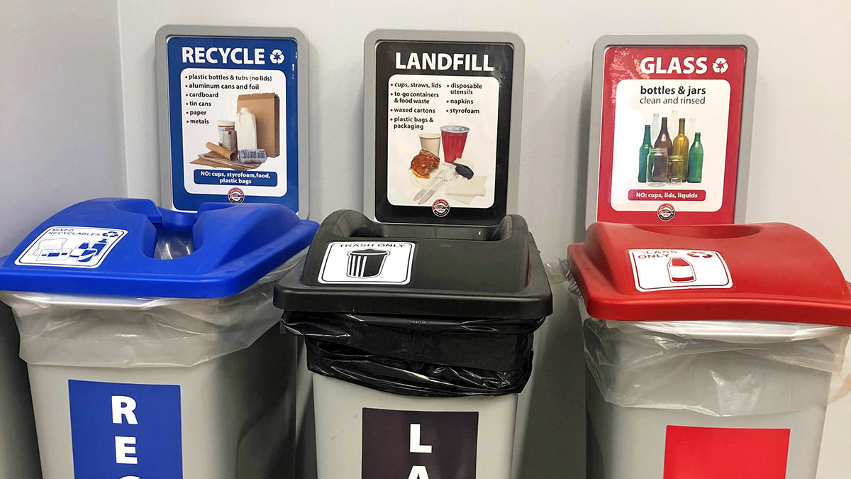 SOU Sustainability Centralized Indoor Recycling