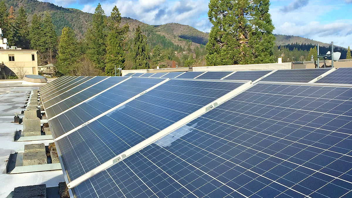 Solar Energy Sustainability at Southern Oregon University